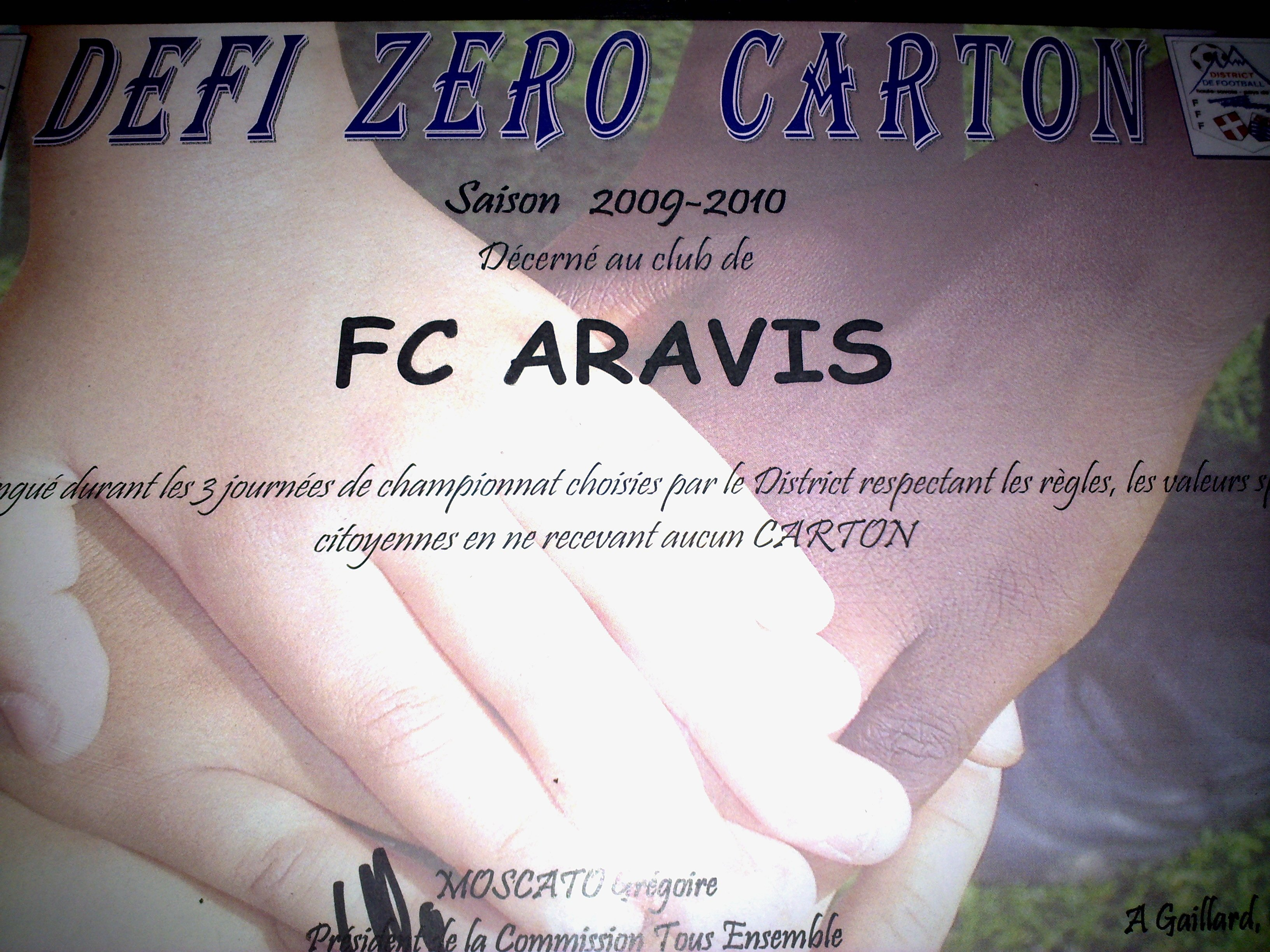 Défi Zéro Carton 2010